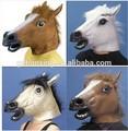 Nueva máscara de partido, zombie látex caballo máscara de la cabeza, máscara de halloween