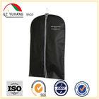 """Black Breathable 54"""" Suit / Tuxedo / Dress plastic non woven Garment Bag"""