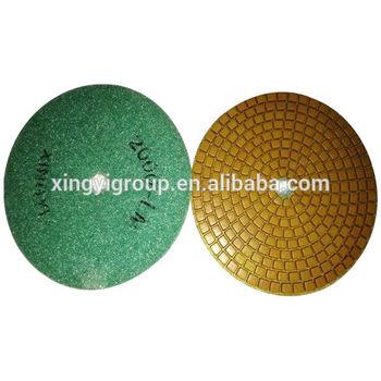 keen diamond bond resin hand polishing pad
