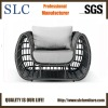 Fashionable Aluminum Outdoor Rattan Curved Sofas (SC-5072-1)