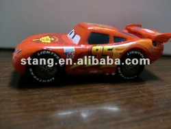 plastic PVC car model toy