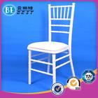 White And Gold Wedding Chiavari Chair BCC001 Outside