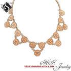 2014 Fashion Jewelry Rosie Lucielle Flower Necklace Youthful Statement Jewelry China Wholesale Fashion Jewelry