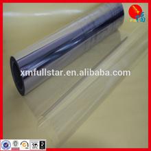 transparent rigid PVC
