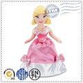 lindo superior calidad caliente venta al por mayor de peluche juguetes de peluche de la felpa muñeca muñeca de tela