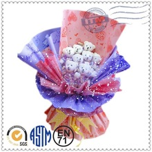 Doll manufacturer cute top quality hot selling custom bouquet doll