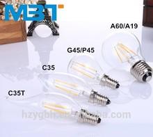 M.B.T LIGHTING 2w 3w 4w E12 E14 Dimmable UL LED Candle Light,LED Candle Bulb,LED Flameless Candle Lamp Alibaba China