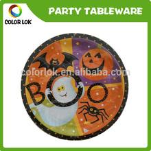 halloween unbreakable dinnerware/paper plate