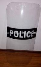 Anti riot shield / Riot plastic shield/ Polycarbonate riot shield