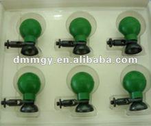 New design Cheap 6 ECG EKG Suction Cup Chest 6 pieces