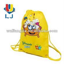 Cartoon character drawstring bag
