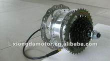 24V 36V 48V Electric Bike Motor/E-bicycle Disc-brake Rear Wheel Hub Motor