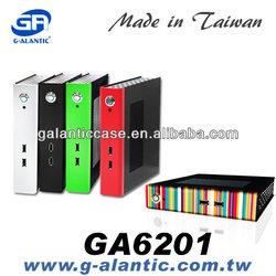 Low Profile Computer Case mini itx thin client- GA6201