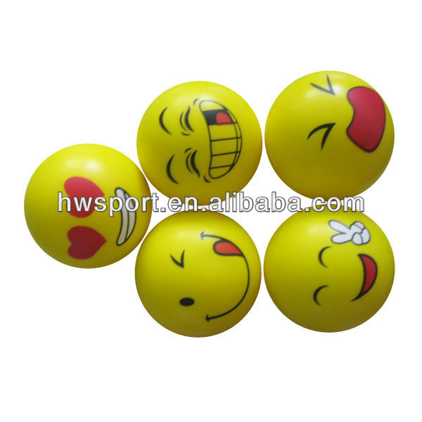 Pu balle smiley
