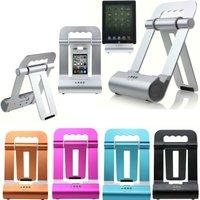 Metal Foldable Speaker Holder Charging Stand for iPad iPad2 iPad3 KOA063
