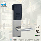 stainless steel electronic card reader safe lock