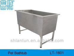 Stainless Steel DOG Bathtub for Dog Shower