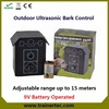 Outdoor Ultrasonic dog bark control with CE&Rohs