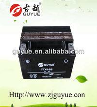 12v 8ah maintenance free battery used on motor