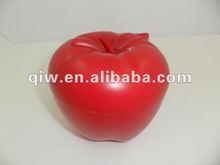 clear money box Apple shaped