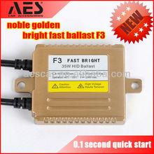 Auto parts xenon hid fast start 35W AC F3 ballast