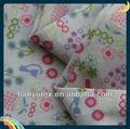 Algodão popeline impressão daisy tecido