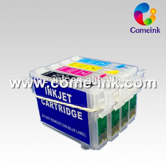 Vendedor quente cartucho recarregável para Epson WorkForce WF-3620DWF T2701-T2704
