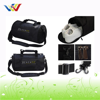 High volume custom travel gym bag fitness bag
