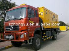 Dongfeng camiones de trabajo / de emergencia eléctrica vehículo / trabajo de reparación carro de la ingeniería