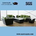 Dysf- d5603, jardim sofá pátio conjunto, ao ar livre restaurante sofá da cadeira, vime rattan cana-de-casa lounge chair, assento 4 sofá piscina
