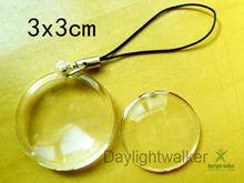 Round Shaped Photo Frame key chain (DW-5134)