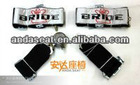 3 Inch 4 Point BRIDE Racing Seat Belt with Quick Release Buckle,Racing Seatbelt,Racing Harness(4P 5P 6P)(Red&Black)