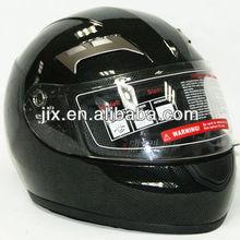 2013 New full Face Jet Motorcyle helmet JX-A5009 Carbon Gloss Black