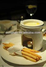 Good quality china manufacturer ceramic eco chocolate fondue sets