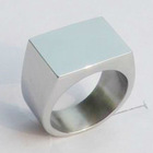 Stainless steel ring blanks wholesale for engraving