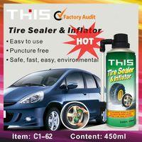 Tire repair car tire sealant
