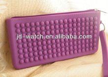 Non-slip round dot gift silicone bag ties