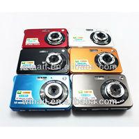 Wholesale/OEM Cheap Digital Camera 12 Megapixels 2.7 Inch TFT Display Rechargeable Li Battery Low Price Chinese Digital Camera
