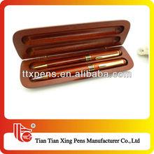 TTX-W01 Novelty hand made top-grade wooden pen set