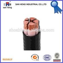 0.6/1KV copper cu/xlpe pvc power cable