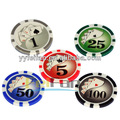 China lieferant 11.5g oem aufkleber pokerchips