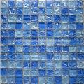 Belle conception d'approvisionnement d'usine en verre craquelé mosaïque