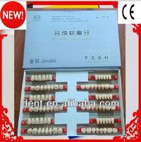 Factory sale!!!2014 Best Selling Vita Shade 2-layer acrylic teeth
