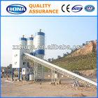 stationary dry mix concrete batching plant