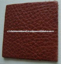 Leather genuine