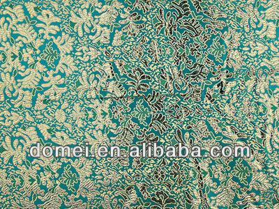jacquard brocade fabric red