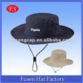 Chapéu de pescador com decote, safari chapéu, chapéu de balde