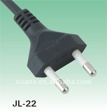 KTL approval 2.5A 250V Korea 2pin electrical plug