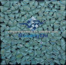 hotsale swimming pool glass pebbles mosaic for pools,kitchen,bathroom 23x23mm,48x48mm