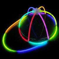 fashionable glow cap in the dark